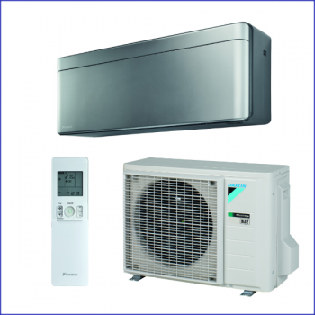 Daikin Stylish FTXA-20AS+RXA20A-Wandgerät-Klimaanlage-Set